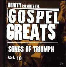 New: GOSPEL GREATS, Vol. 10 Songs of Triumph (VANESSA BELL ARMSTRONG,VIRTUE) CD