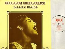 BILLIE HOLIDAY billie's blues 20055 german astan 1984 LP PS EX/EX