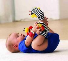 Kuhu Creations Rattle toys Garden Bug Wrist Rattle Foot Socks