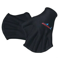 Neoprene Webbed Gloves Quick Fast Paddle Hand Training Diving Swimming Surfing