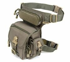 Outdoor Tactical Military 1000D Drop Leg Bag Panel Utility Waist Belt Pouch Bag