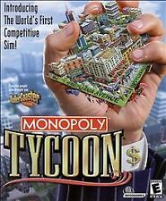 MONOPOLY TYCOON  Build the empire of your dreams   PC Simulation (barely used)
