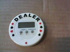 BOTTONE DEALER CON TIMER PER POKER