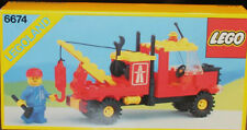 LEGO Classic Town TRAFFIC 6674 Crane Truck  New Sealed 1988'