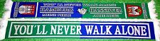 "Hannover Hamburg Schal ""You´ll never walk alone""  Niedersachsen Ultra Fan Kurve"