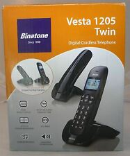 Binatone Vesta 1205 Twin Duo Digital Cordless Home Phone DECT Telephone