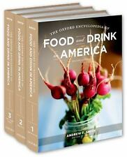 Food And Drink In AMERICA 3 Vol Set Oxford Encyclopedia Culinary History