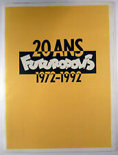 Futuropolis 20 ans 1972-1992 Catalogue 30x40 TBE
