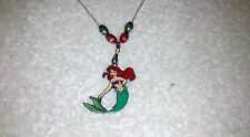DISNEY ARIEL The LITTLE MERMAID NECKLACE Party Bag Stocking Filler
