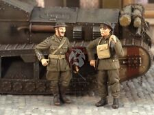 Verlinden 1/35 British Arny Tank Corps Soldiers from RTR WWI (2 Figures) 2529