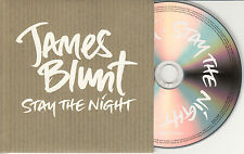 JAMES BLUNT Stay The Night 2010 UK 1-trk promo test CD Bob Marley