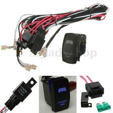 12V 40 Amp Off Road ATV/Jeep LED Light Bar Wiring Harness Relay & ON/OFF Switch
