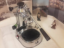 La Pavoni Europiccola Epc-8 CHrome espresso lever machine coffe DOUBLE SWITCH