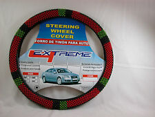 Beaded  Steering Wheel Cover for Cars or Pick Up Trucks NIB  #steC Closeout