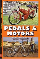 Book - Pedals & Motors - Bicycle Cyclemotor Autocycle Moped - Raleigh BSA NSU