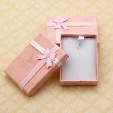 Rectangle Jewellery Gift Boxes Packaging Paperboard Box Pink Color HOT SELL 10x