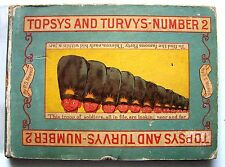 RARE 1894 Edition TOPSYS AND TURVYS NUMBER 2 By P. S. NEWELL Illustrated