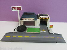 complete MICRO MACHINES CITY CORNERS city motors PLAYSET vintage galoob for cars