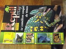 4µ? Revue Reptil Mag n°12 AmibiaseAnimaux venimeux Caméléon casqué Tortue bour..