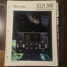 King Bendix KLN-900 GPS Pilot's Guide