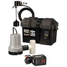 Liberty Pumps Model 441 12-Volt Battery Back-Up Emergency Sump Pump System