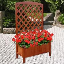 Holz Blumenkasten Rankkasten Rankgitter Blumenständer Rankhilfe Blumenkübel M02