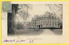 cpa Dos 1900 CHÂTEAU de BONNELLES (Yvelines) Phototypie A. Breger frères, Paris