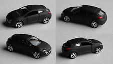 Majorette - Renault Megane Coupe mattschwarz