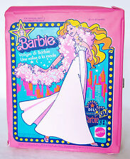Barbie valise vêtements et poupées Dressing vintage No.1002 de 1977 Doll case