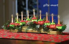 vintage style BUBBLE LIGHTS centerpiece christmas tree holiday water lava lamp