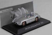 Mercedes-Benz 300 SLR W196S 1955 silber silver 1:43 IXO Altaya Collection