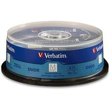 Verbatim 98908 M Disc DVD-R 4.7GB 4X with Branded Surface - 25pk Spindle 0F0C