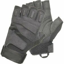 BlackHawk S.O.L.A.G Half Finger Gloves Black Small #8068SMBK