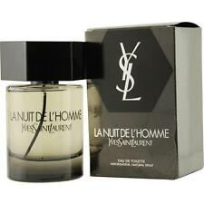 Yves Saint Laurent La Nuit De L'Homme Men's 2-ounce Eau de Toilette Spray