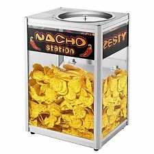 Popcorn Peanut Nacho Chips Warmer Station Commercial Concession Tortilla Cheese