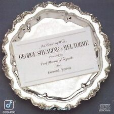 Evening With George Shearing & Mel Torme, New Music