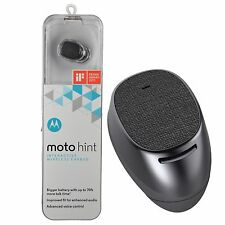 Motorola Moto Hint + Plus 2nd Generation Interactive Wireless Bluetooth Earbud