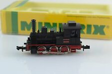 Minitrix 0-6-0 BR89 Steam Locomotive Black N Scale
