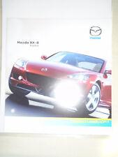 Mazda RX8 Evolve brochure Feb 2006