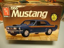"AMT/ERTL 1966 FORD MUSTANG ""3 n 1"" COUPE #6526 MPC 66 1/25 MINT F/S MODEL KIT"