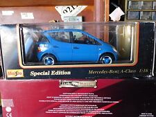 SPECIAL EDITION 1997 MERCEDES-BENZ A-CLASS DIECAST 1:18 SCALE NEW IN BOX MAISTO