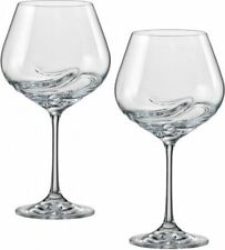 Turbulence 570ml Crystal Wine Glasses - Set of Two - Bohemia Crystal