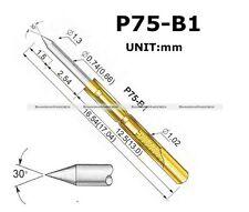 50Pcs P75-B1 Dia 1.02mm 100g Spring Test Probe Pogo Pin 90014134 S2