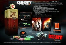 Call Of Duty: Black Ops III Juggernog Edition (Xbox One, Video Game) Brand New