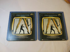 For Your Eyes Only James Bond 007 2 disc set CED Video Disc laserdisc movie