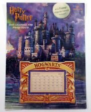 2000 Hallmark / 2001 Harry Potter Calendar & Photo Frame Collectible New/Sealed