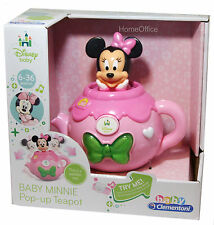 Disney Minnie  Mouse Baby Pop-Up Teapot Toy New Age 6 Months Plus