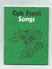 SCOUT UK CUB SONGS BOOKLET SMALL BOOK 1988 GREAT BRITAIN ENGLAND PRINTING PUB !!