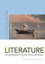 Literature: An Introduction to Fiction, Poetry, and Drama, Ninth Edition EX cond