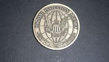 ON-SITE INSPECTION AGENCY CHALLENGE COIN U.S. AGENCY RE NUCLEAR FORCES TREATY